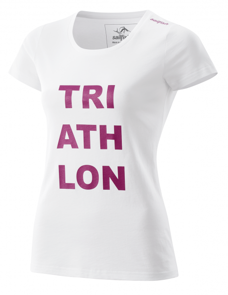 Womens T-Shirt Triathlon