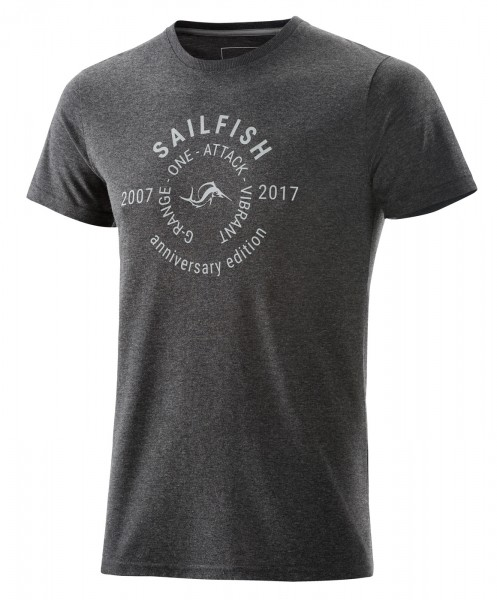 sailfish T-Shirt Anniversary grey