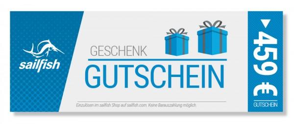 Geschenkgutschein € 459