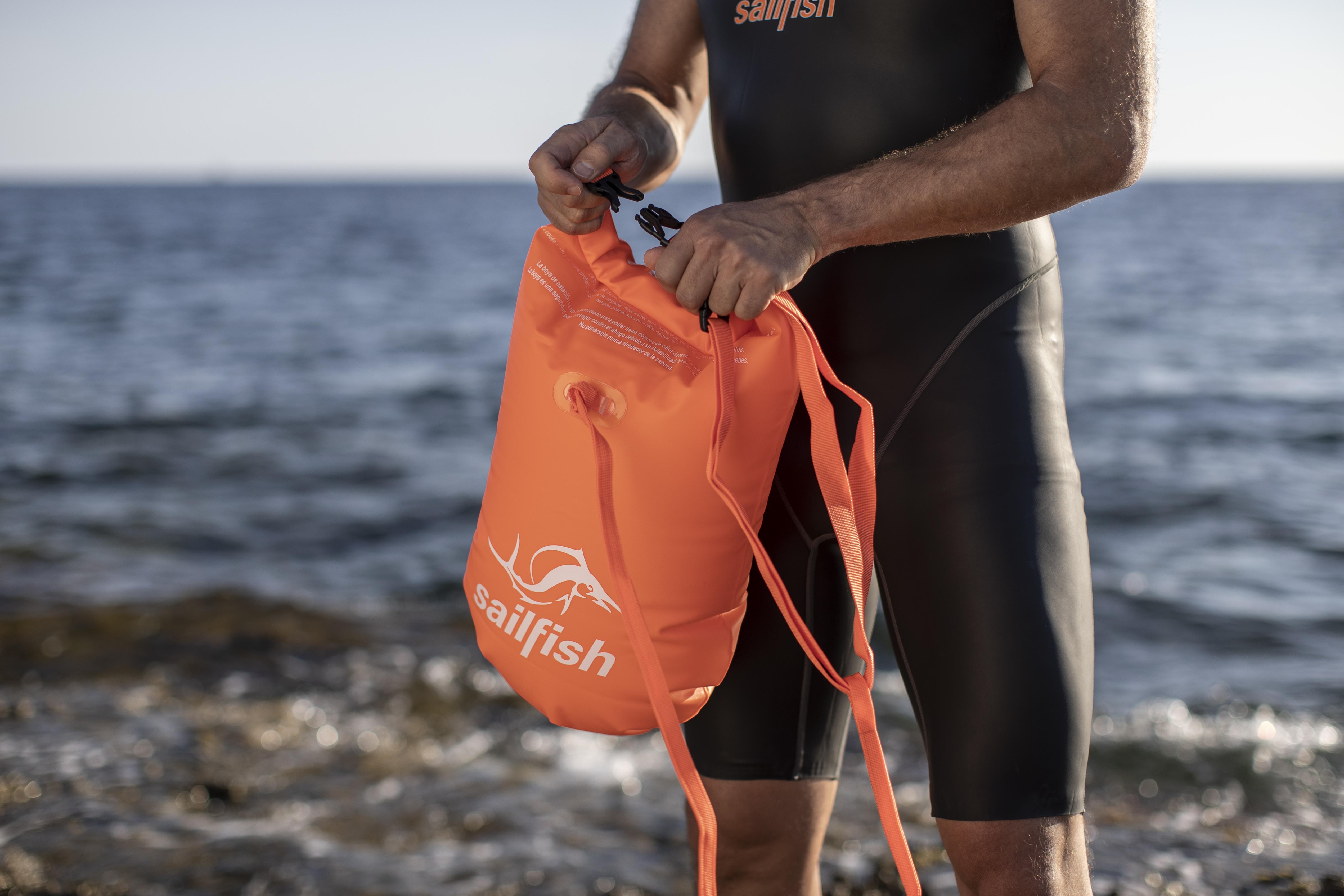 schwimmboje freiwasserschwimmen mit tasche billig kaufen
