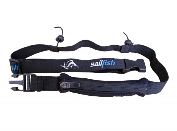 sailfish racenumberlet pocket one size black