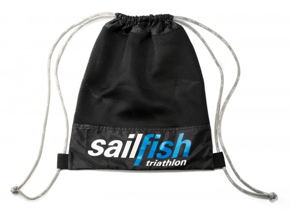 sailfish gymbag black front