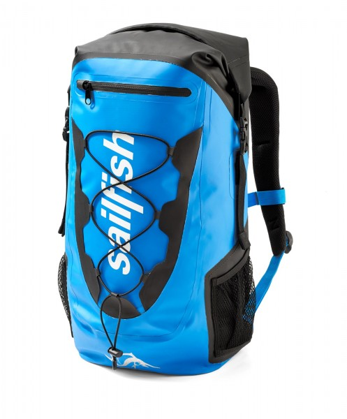 sailfish waterproof swim bag Barcelona blue front