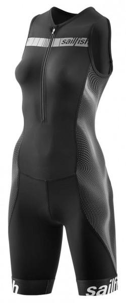 sailfish Trisuit Comp woman front black